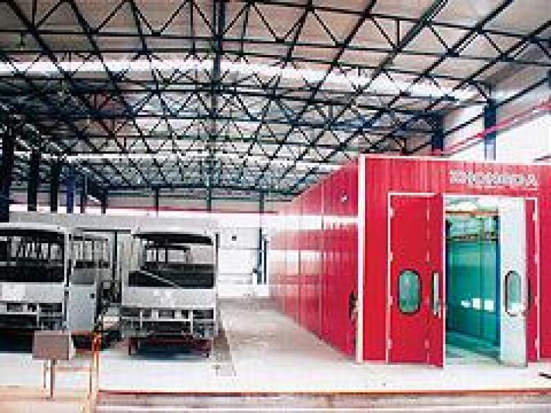 La empresa Zhongda planea instalar en M�xico una planta de autobuses.