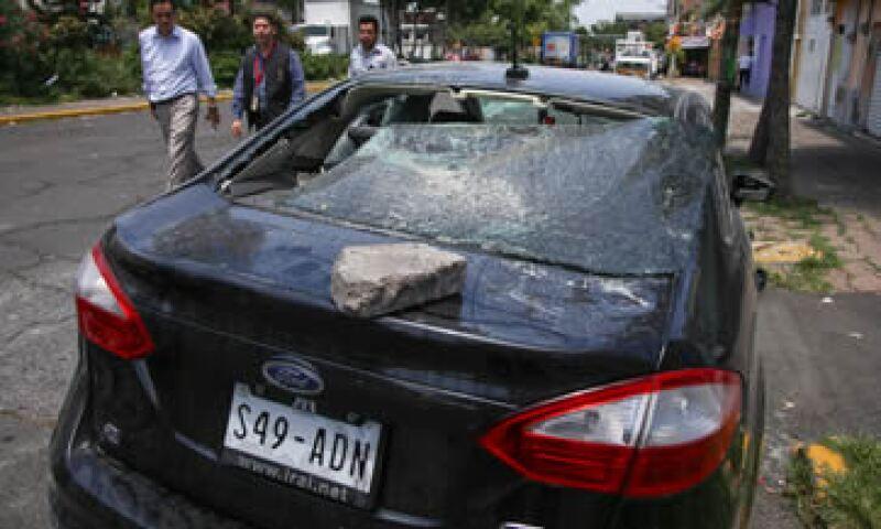 Los taxistas se deslinaron de estas agresiones. (Foto: Cuartoscuro )
