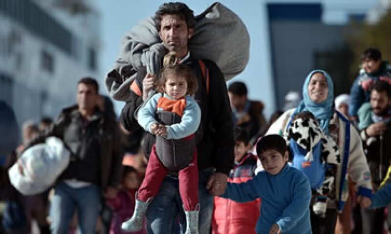 2016 es el cuarto año de la emergencia migratoria en el Mediterráneo. (Foto: AFP)