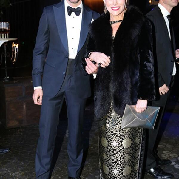 Luis Miguel Moreno y Raquel Bessudo