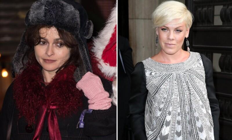 Helena Bonham Carter Y Pink Se Desnudan En Beneficio De Los Animales