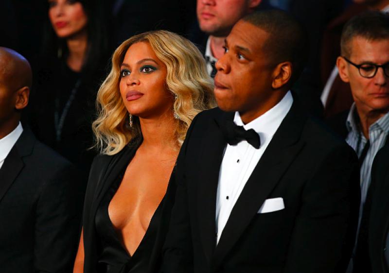 Beyoncé y Jay-Z asistieron como fanáticos al concierto de Britney.