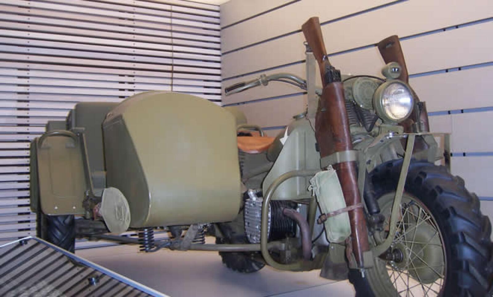Las motocicletas de Harley Davidson han recorrido el mundo y durante la segunda guerra mundial fueron muy utilizadas por todos los Aliados.