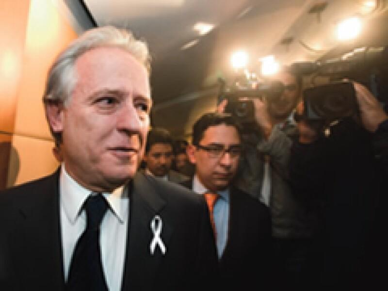 Alejandro Martí pide justicia para los responsables del asesinato y secuestro de su hijo Fernando. (Archivo)