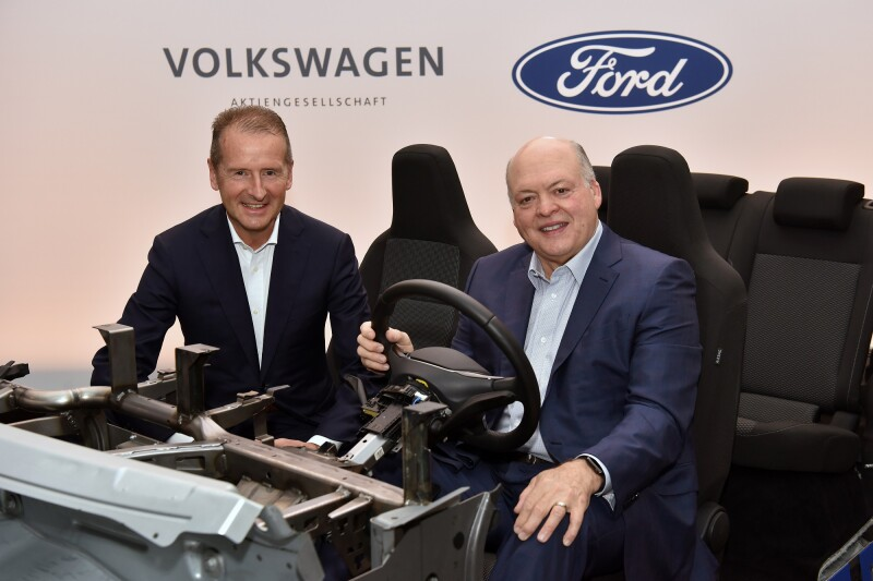 Ford and Volkswagen