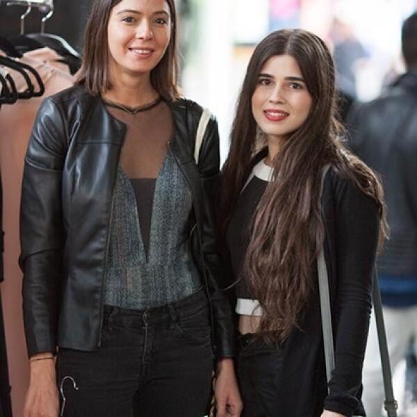 Claudia Collado y Daniela Segura