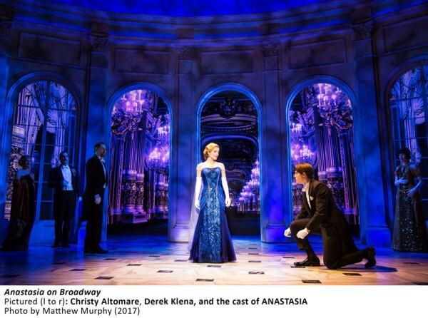[4630]_Christy Altomare, Derek Klena, and the cast of ANASTASIA in ANASTASIA on Broadway, Photo by Matthew Murphy, 2017