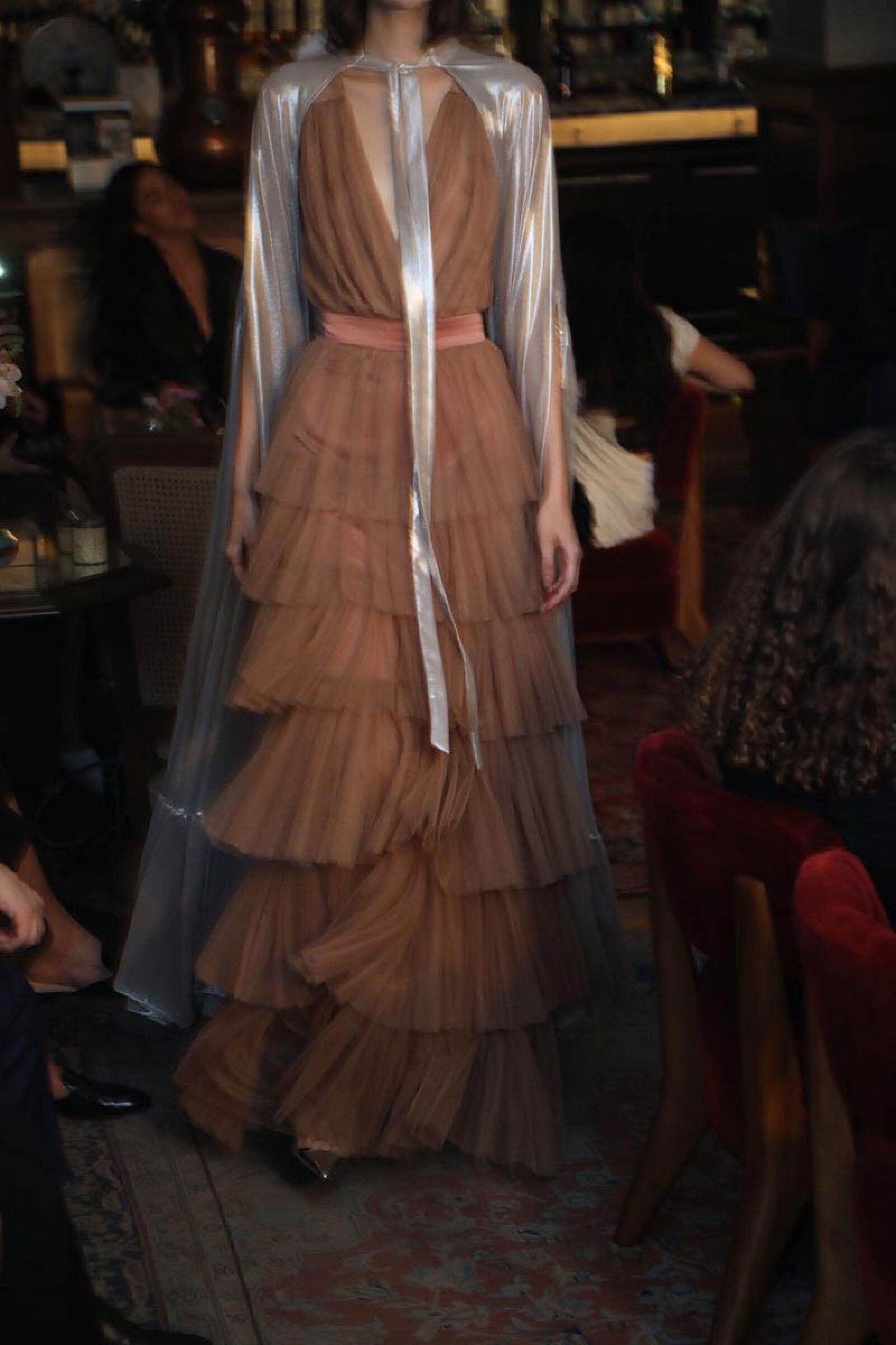 Sandra-Weil-MBFWMX-Runway-Nude-Dress