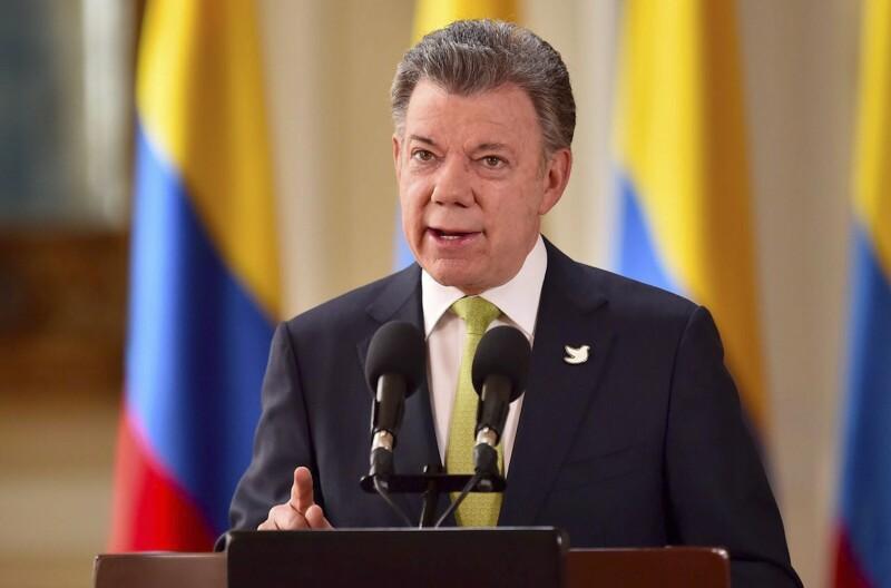 El presidente colombiano realizó el anuncio tras el fracaso de las negociaciones en Cuba.