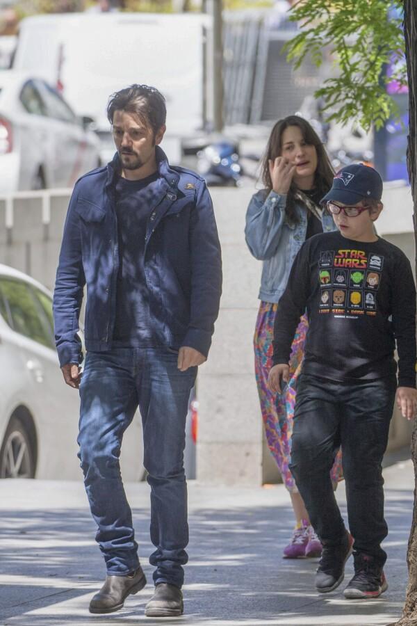 PREMIUM EXC Diego Luna y su hijo Jerónimo