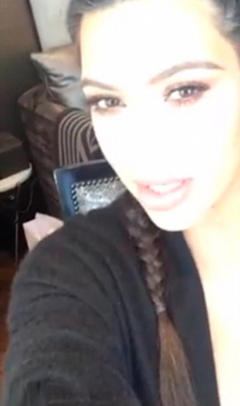 Kim dijo que espera a que termine la cuarentena para empezar a trabajar en recuperar su figura.