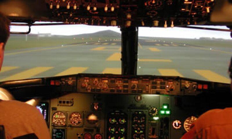 La empresa ha impartido 100 cursos de piloto comercial virtual en lo que va del año. (Foto: Cortesía Simuladores de Vuelo)