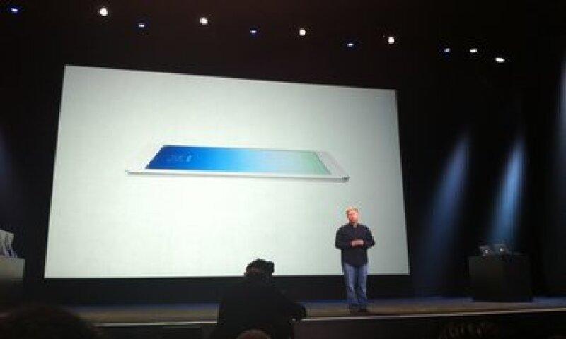 Apple también renovó la pantalla del que hasta este martes era su iPad más compacto, el iPad Mini. (Foto: Gabriela Chávez)