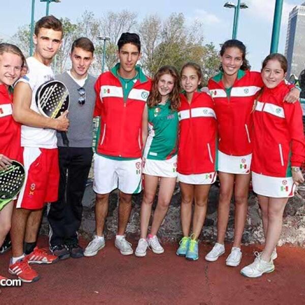 Natalia Chico,Sebastián Lerdo de Tejada,Andrés Manzur,Pablo Magaña,Marce Chaya,Camila Ramme,Adriána Corona y Sofía Vargas