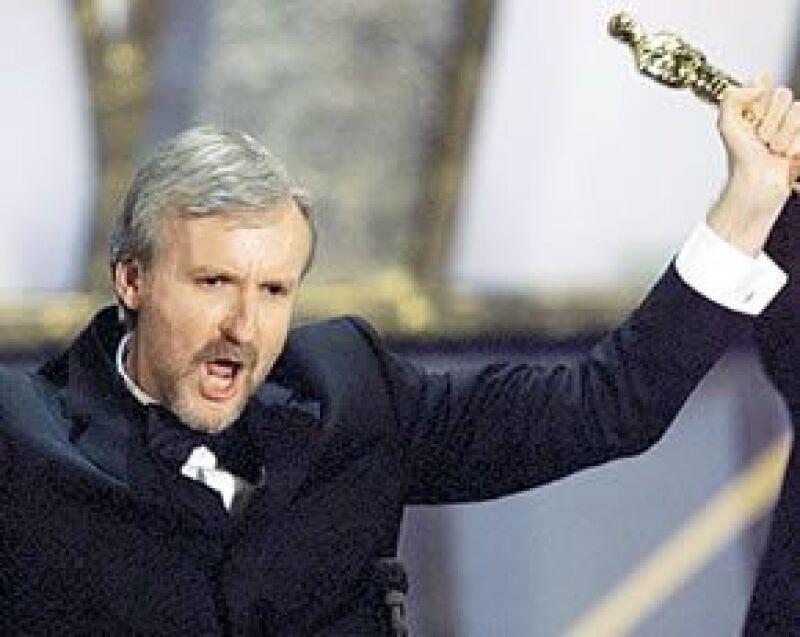 James Cameron ganó 11 premios Oscar por su película Titanic.