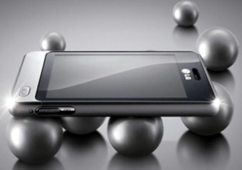 El teléfono permite a los usuarios actualizar sus estatus en sitios como Facebook, MySpace y Twitter. (Foto: LG)