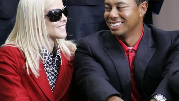 La separación del golfista y su todavía esposa Elin Nordegren se encuentra en trámites y podría ser el más caro de la historia del deporte mundial.