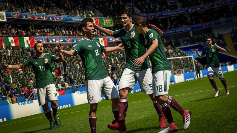 FIFA 18 Lleva a México o a tu país favorito a conquistar Rusia 2018 (Foto   EA Sports) 9d799aade9e08