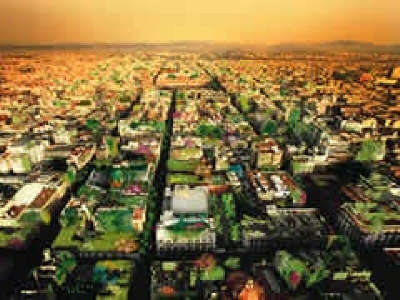 En el Valle de México se dispara la alarma para recuperar las áreas naturales. (Ilustración: Cecilia Falcón)