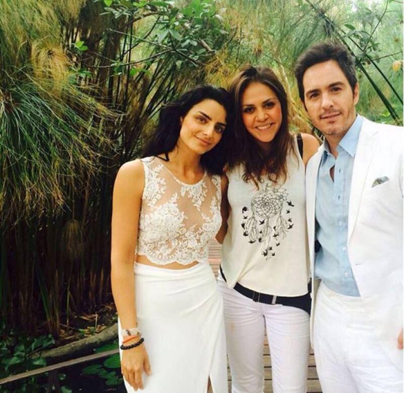 Los hermanos de la actriz compartieron en sus redes sociales más fotografías del enlace que se celebró el fin de semana pasado.