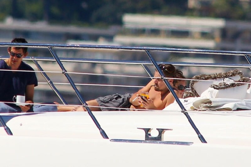 El actor tomó unos días de descanso luego de presentarse en el Festival de Cannes.