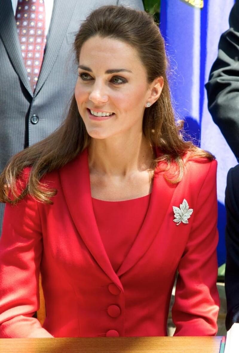 Kate Middleton en su visita a Calgary en 2011.