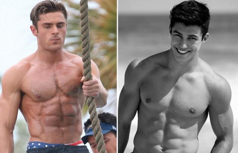 No hay duda de que tanto el actor como el atleta son muy guapos.