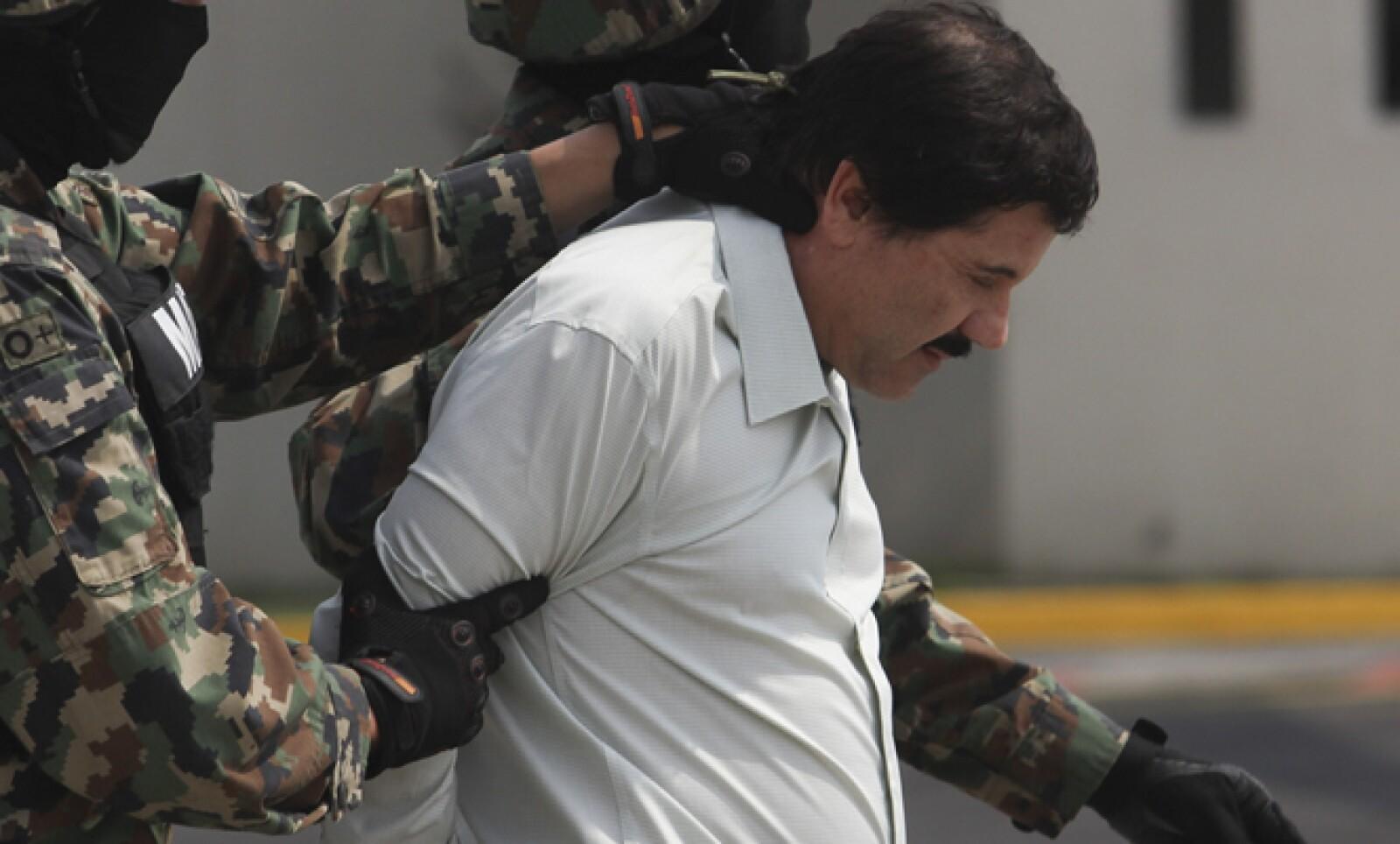 Las autoridades confirmaron que se trataba del verdadero Chapo tras realziar algunas pruebas