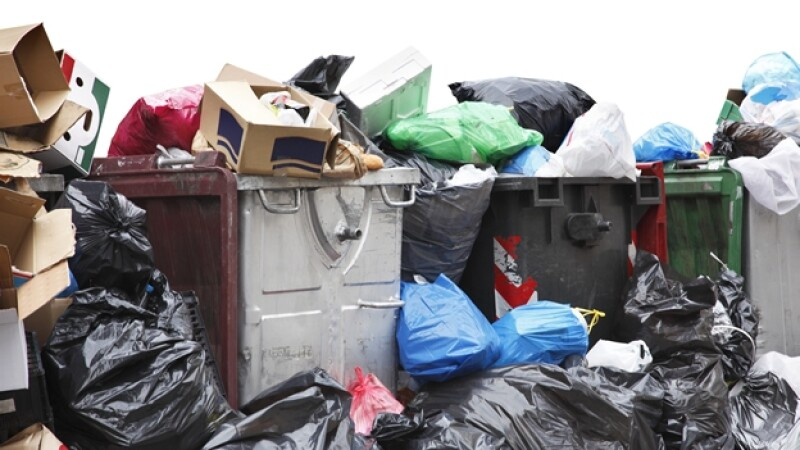 bolsas plástico deshechos basura