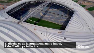 El estadio de Zaha Hadid para Catar 2022 abre sus puertas