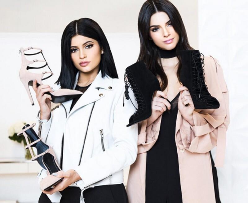 pero no vulgar a juego en color mas bajo precio Así es la primera marca de ropa de Kendall y Kylie Jenner