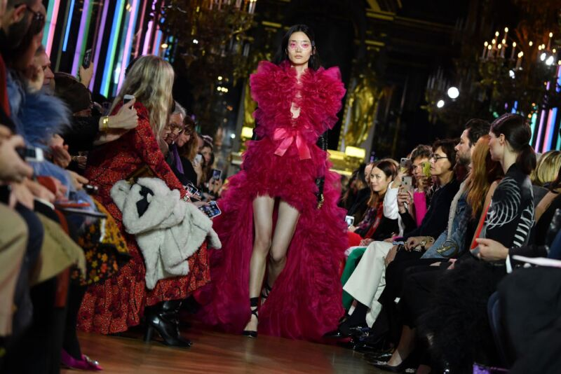 Schiaparelli : Runway - Paris Fashion Week - Haute Couture Spring Summer 2019