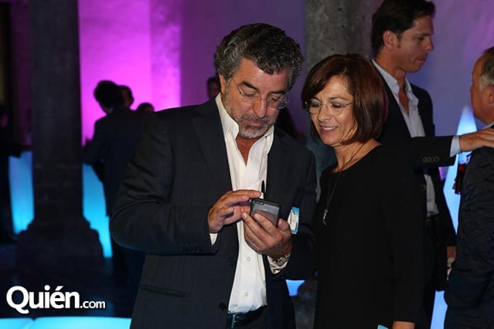 José Luis Salamanca y Marissa Méndez
