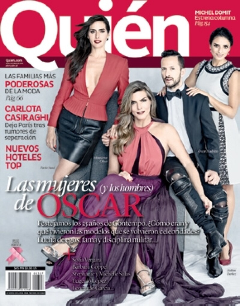 Entérate de cómo fue el shooting de nuestra portada con Óscar Madrazo, Montserrat Oliver, Aislinn Derbez, Paola Saad y otras guapísimas modelos Contempo.