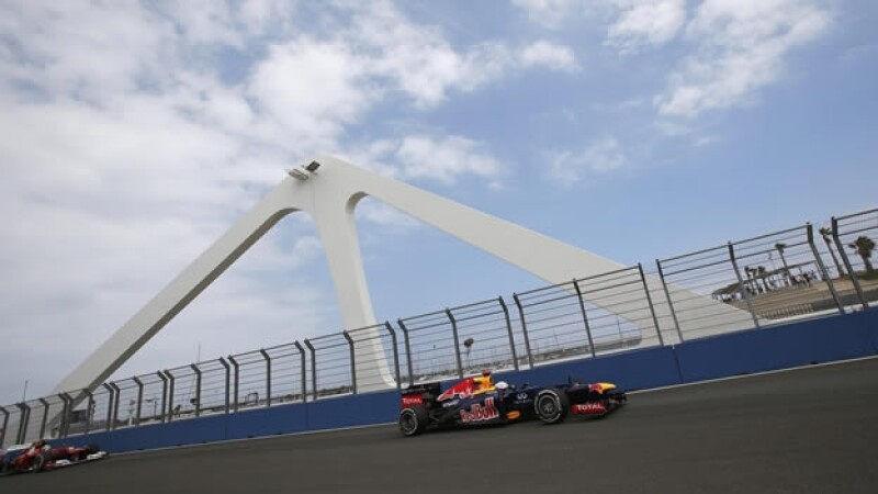 Sebastian Vettel GP de Europa Q