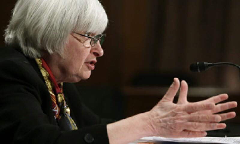Janet Yellen se convirtió en la primera mujer en dirigir la Fed.  (Foto: Reuters)