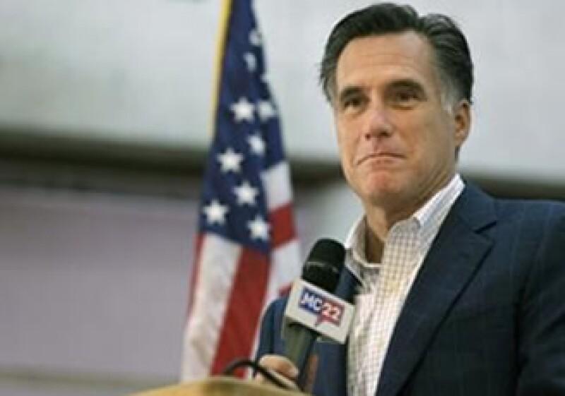 Mitt Romney recaudó 10.25 millones de dólares en apenas ocho horas en Las Vegas, el mes pasado. (Foto: Reuters)