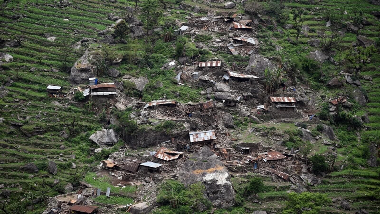 Poblado Gorkha Nepal