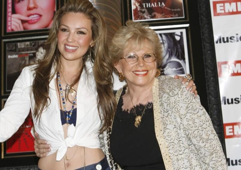 Hoy se confirmó que Yolanda Miranda, madre de la cantante mexicana, falleció este viernes por la madrugada a causa de derrame cerebral.