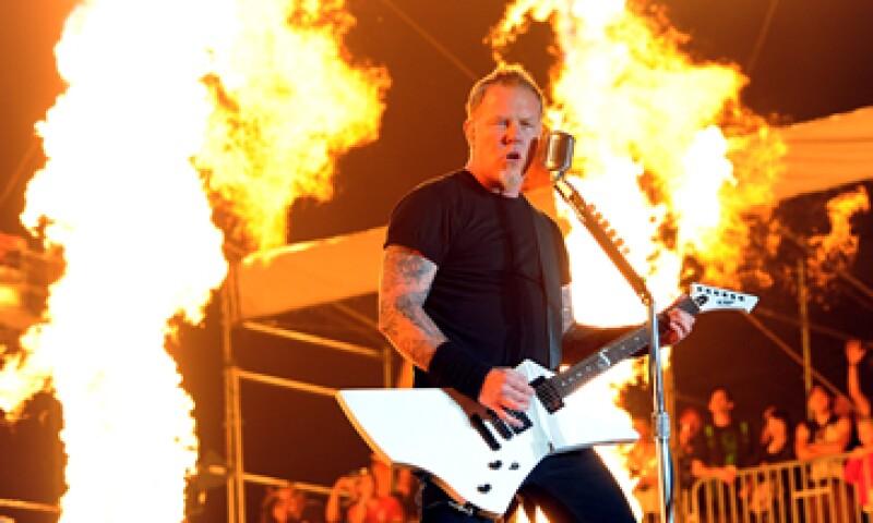 Después de 30 años de vida, Metallica ha tocado prácticamente en todo el mundo. (Foto: Getty Images )