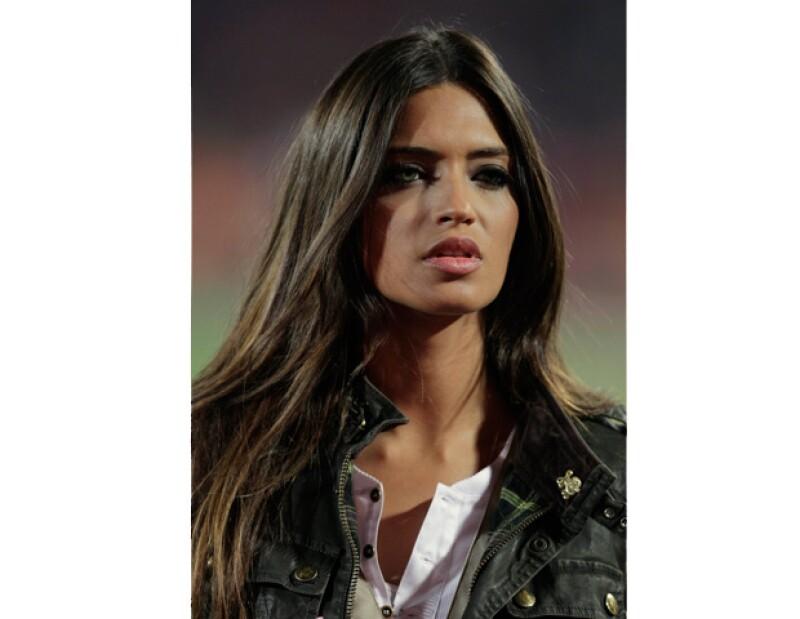 La novia del portero Iker Casillas se unió al equipo de Televisa Deportes para hacer apariciones especiales durante los juegos Olímpicos de Londres 2012.