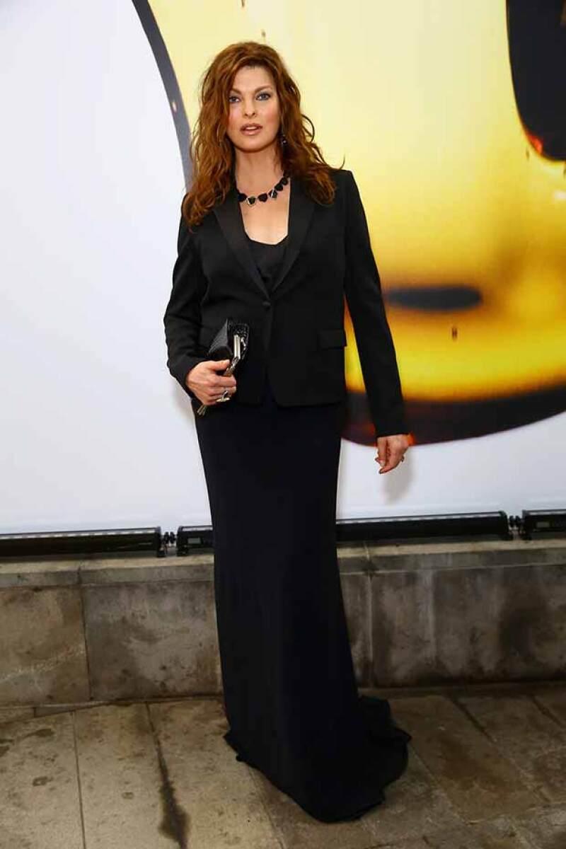 Linda en los Fragrance Foundation Awards 2015.