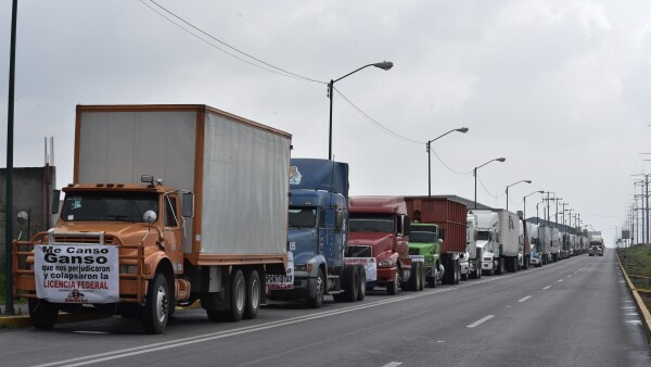 protestas transportista