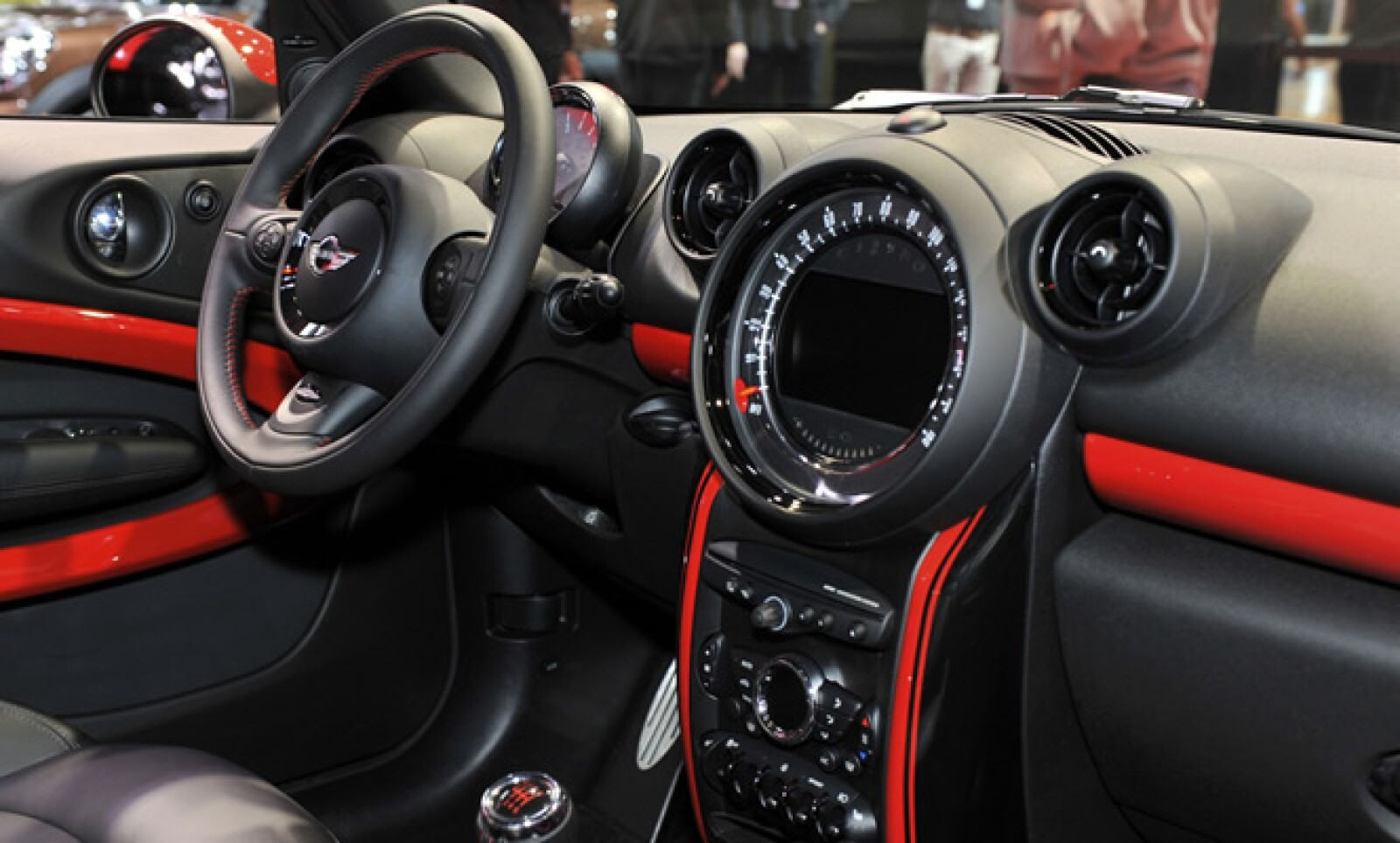 El interior del MINI John Cooper Works Paceman.