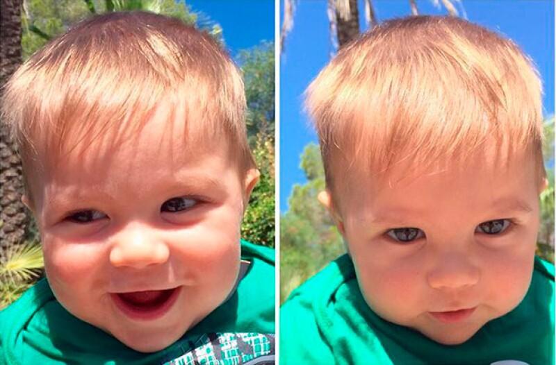 La colombiana Shakira presumió encantadoras fotos de su hijo menor, quien pronto cumplirá siete meses de edad.