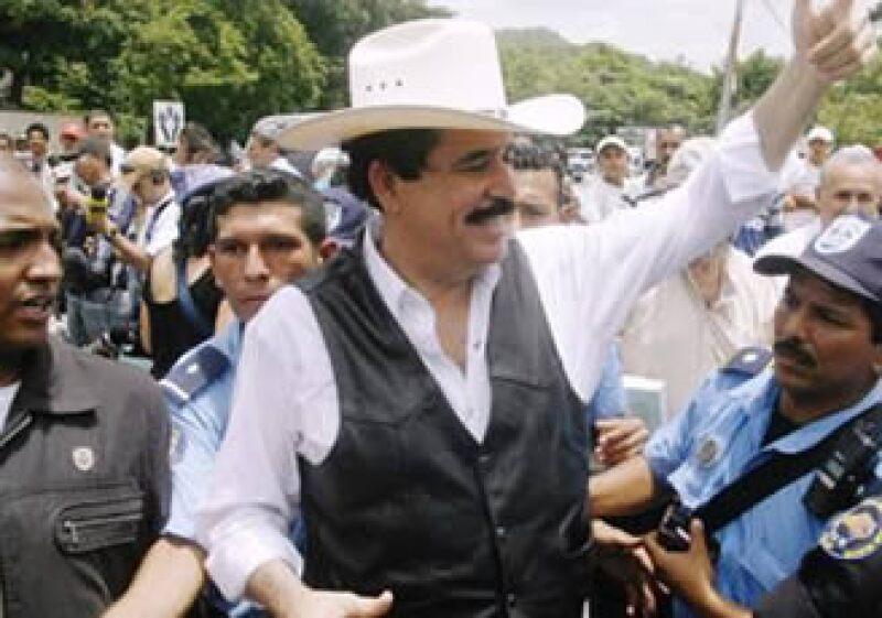 Manuel Zelaya se encuentra en territorio Hondureño. (Foto: Reuters)
