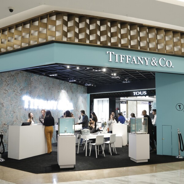 Pop-up Tiffany & Co.
