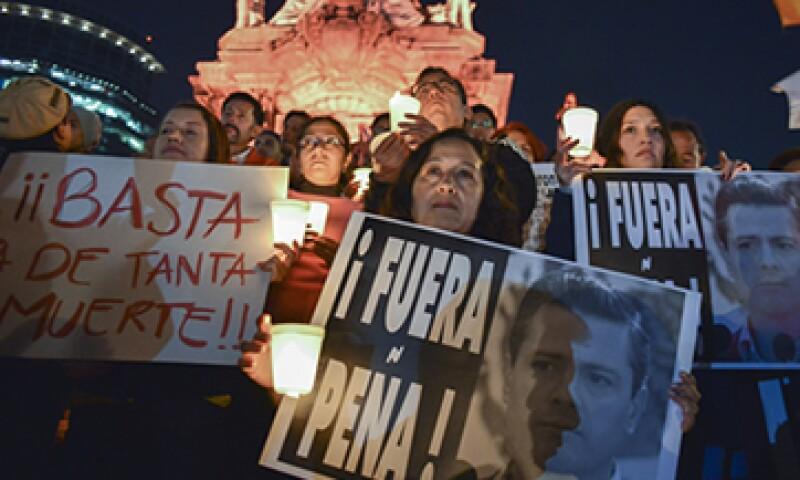 El hashtag #Yamecansé surgió como protesta a la desaparición de los 43 normalistas de Guerrero. (Foto: Cuartoscuro )