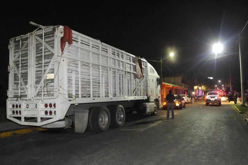 camion migra