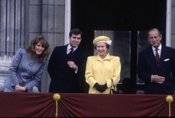Sarah Ferguson y el duque de Edimburgo